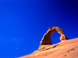 Rock Formation Known as Delicate Arch Arches National Park  Utah  USA