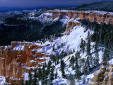 """Hoodoos"" of Bryce Canyon from Yovimpa Point Bryce Canyon National Park  Utah  USA"