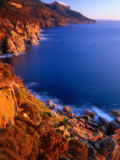 Coastline of Maria Island National Park  Maria Island  Tasmania  Australia