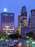 Kaiser Wilhelm Memorial Church  Kurfurstendamm Area  Berlin  Germany
