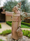 St Francis Statue at the St Francis Vineyards and Winery  Sonoma Valley  California  USA