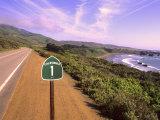 Pacific Coast Highway  California Route 1 near Big Sur  California  USA