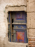 Cemented over Classic Doorway  Old City  Montevideo  Uruguay