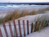 St Joseph Lighthouse on Lake Michigan  Berrien County  Michigan  USA