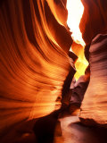 Antelope Canyon Silhouettes in Page  Arizona  USA