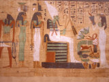 Ancient Papyrus  Cairo Museum of Egyptian Antiquities  Cairo  Egypt