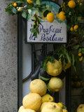 Lemons, Positano, Amalfi Coast, Campania, Italy Papier Photo par Walter Bibikow