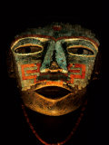 Turquoise  Mosaic  Mask  Teotihuacan  Mexico