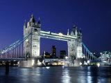 Tower Bridge, Londres, Angleterre Papier Photo par Sergio Pitamitz