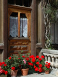 Entrance to Chalet Maria  Zermatt  Switzerland