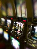Slot Machines  Luxor Casino  Las Vegas  Nevada  USA