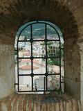 Castello Ruffo  Town View from Castle Window  Scilla  Calabria  Italy