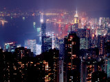 Hong Kong Skyline from Victoria Peak  China