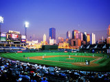 Baseball Game at Heinz Stadium  Pittsburgh  Pennsylvania  USA