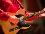 Swinging Guitar  Grand Ole Opry at Ryman Auditorium  Nashville  Tennessee  USA