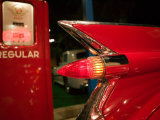 1959 Red Cadillac  Elvis Presley Automobile Collection Museum  Memphis  Tennessee  USA