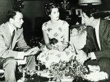 Frank Sinatra with Princess Grace Kelly  1958