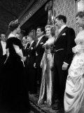 Marilyn Monroe Meets Queen Elizabeth II at the Royal Film Show  October 1956