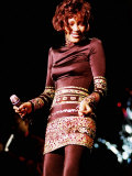 Whitney Houston  at Concert in Dublin