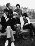 Rolling Stones Mick Jagger Brian Jones  Bill Wyman Keith Richards Charlie Watts
