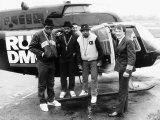 Run DMC American Pop Group Rap Outside Helicopter  1987