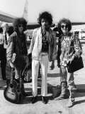 The Jimi Hendrix Experience Arriving at Heathrow Airport  August 1967