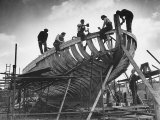 This Wooden Fishing Boat was Built by 60 People in 100 Days  WW2 Topsham Shipyard 1944