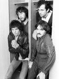 The Stranglers Jet Black  Hugh Cornwell  Jean Jacques Burnel and Dave Greenfield  September 1977