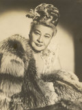 Sophie Tucker (Sophia Abuza) American Vaudeville Singer with Occasional Film Roles