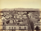 Panoramic View of a Mexican City