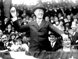 President Woodrow Wilson Throwing Out the First Ball  Opening Day  1916