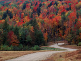Central Vermont in the Fall  USA