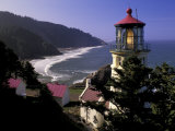 Heceta Head Lighthouse  Florence  Oregon  USA