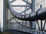 Ben Franklin Bridge  Philadelphia  Pennsylvania  USA