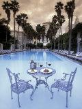 Delano Hotel Pool  South Beach  Miami  Florida  USA