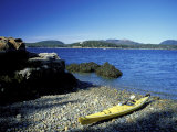 Sea Kayaking Around Mt Desert Island  Sutton Island  Maine  USA