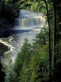 Tahquamenon Falls  Tahquamenon Falls State Park  Michigan  USA