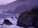 Coastline Between Carmel and Monterey  California  USA