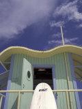 Art Deco Lifeguard Station  South Beach  Miami  Florida  USA