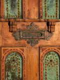 Close-up of a Mail Slot on a Door