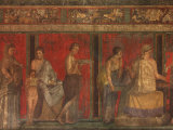 Villa of the Mysteries Pompeii Italy