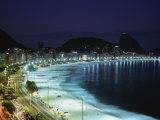 Copacabana Beach Pao de Acucar Rio de Janeiro Brazil