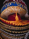 Stack of Sombreros For Sale  Puerto Vallarta  Mexico