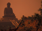 Po Lin Monastery and Buddha  Hong Kong