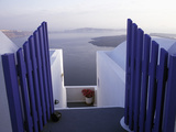 View Toward Caldera  Imerovigli  Santorini  Greece