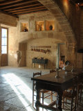 Medieval Kitchen  Chateau de Pierreclos  Burgundy  France