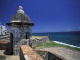 Sentry Box at San Cristobal Fort  El Morro  San Juan  Puerto Rico
