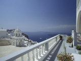Thira and the Caldera  Santorini  Cyclades Islands  Greece