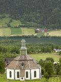 Sofar Fron Octagonal Stone Church  Laggen River Valley  Ringebu  Norway