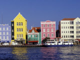 Dutch Gable Architecture of Willemstad  Curacao  Caribbean